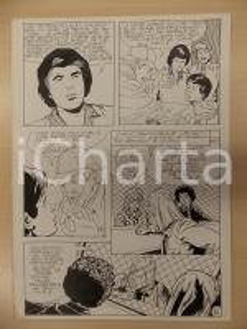 1981 AMI BARRY Ep.5 Luciano BERNASCONI Fantasma Sherlock HOLMES Tavola originale