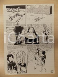 1981 AMI BARRY Ep.5 Luciano BERNASCONI Suora distratta *Tavola originale