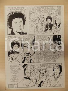 1981 AMI BARRY Ep.5 Luciano BERNASCONI Sherlock HOLMES Fantasma Tavola originale