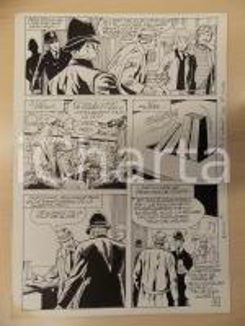 1981 AMI BARRY Ep.3 Luciano BERNASCONI Mistero del metronomo *Tavola originale