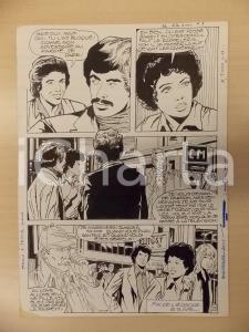 1981 AMI BARRY Ep.3 Luciano BERNASCONI Sherlock Holmes Fantasma Tavola originale