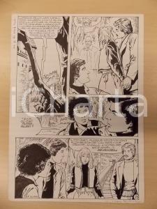 1981 AMI BARRY Ep.1 Luciano BERNASCONI Bacio nel bosco *Tavola originale