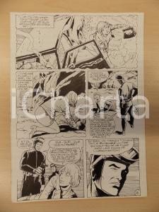 1981 AMI BARRY Ep.1 Luciano BERNASCONI Sommozzatore con pistola Tavola originale