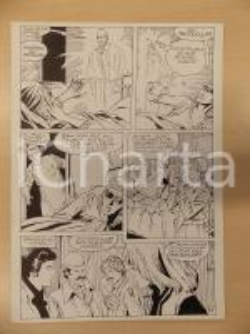 1981 AMI BARRY Ep.1 Luciano BERNASCONI Sherlock HOLMES cecità *Tavola originale