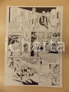 1981 AMI BARRY Ep.1 Luciano BERNASCONI Sparatoria nel bosco *Tavola originale