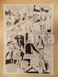 1981 AMI BARRY Ep.2 Luciano BERNASCONI Ostaggio e aguzzini *Tavola originale