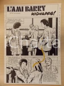 1981 AMI BARRY Ep.2 Luciano BERNASCONI *Tavola originale DANNEGGIATA