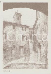 1965 ca BELVEDERE OSTRENSE (AN) Piazzetta Marconi - Ill. MANCINELLI *Cartolina