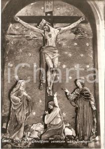 1955 ca GAETA Crocifisso del Santuario della Montagna Spaccata *Cartolina FG NV