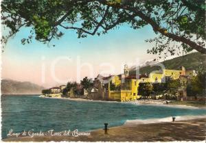 1955 ca TORRI DEL BENACO (VR) Panorama con Lago di Garda *Cartolina FG NV