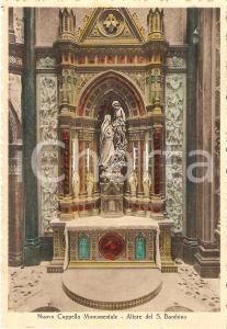 1955 VERONA Santuario Santa Teresa del Bambin Gesù - Altare *Cartolina FG NV