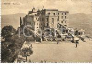 1960 ca TINDARI (ME) Santuario della Madonna - Panorama *Cartolina FG NV