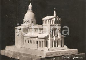 1960 ca TINDARI (ME) Bozzetto del nuovo Santuario *Cartolina FG NV