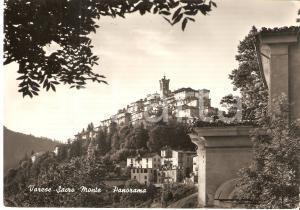 1959 VARESE Panorama del SACRO MONTE *Cartolina FG VG