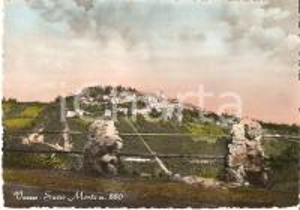 1954 VARESE Panorama del SACRO MONTE *Cartolina FG VG