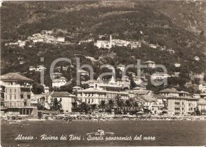 1957 ALASSIO Pattino diretto verso la spiaggia *Cartolina FG VG