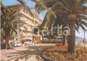 1969 ALASSIO (SV) Hotel Mediterranée e passeggiata a mare *Cartolina FG VG