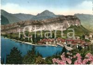 1958 TORBOLE (TN) Panorama con abitato e Lago di Garda *Cartolina FG NV