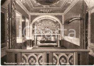 1955 ca MATERDOMINI (AV) Cella del transito di San Gerardo MAIELLA *Cartolina FG