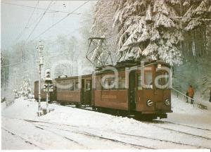 1973 UETLIBERGBAHN Bambino guarda locomotiva Be 2/2 1 *Cartolina FG NV