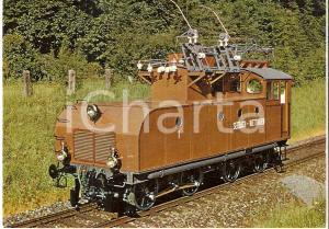 1985 ca SEEBACH - WETTINGEN Prima locomotiva a trazione monofase Cartolina FG NV