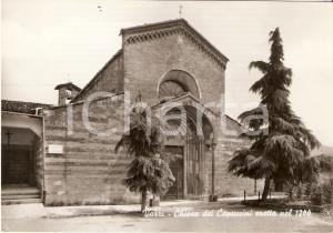1955 ca VARZI (PV) Panorama con Chiesa dei Cappuccini *Cartolina FG NV