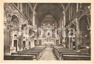 1950 ca CASALE MONFERRATO Chiesa francescana di Sant'Antonio *Cartolina FG NV