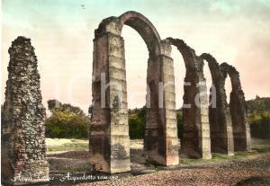 1956 ACQUI TERME (AL) Veduta dell'acquedotto romano *Cartolina FG VG