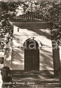1955 ca ALESSANDRIA Ossario del Castello di MARENGO *Cartolina FG NV