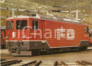 1980 ca FURKA - OBERALP BAHN Lokomotive Ge 4/4 III 81 *Cartolina FG NV