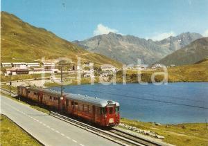 1980 ca OBERALP - PASSHOHE Treno della Furka - Oberalp Bahn *Cartolina FG NV