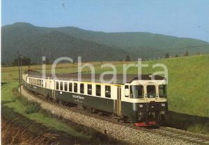 1980 ca SWITZERLAND Treno della linea SUDOSTBAHN *Cartolina FG NV