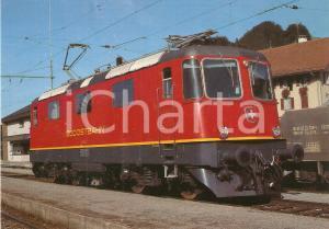 1983 SWITZERLAND Sudostbahn Locomotiva Re 4/4 ''42 *Cartolina FG NV