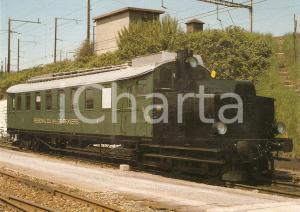 1982 RVT Chemin de fer VAL DE TRAVERS Locomotiva ABm 2/5 9 *Cartolina FG NV