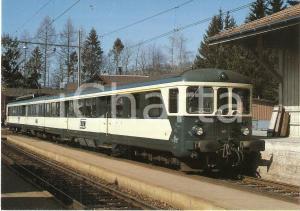1983 NESSLAU - NEU ST. JOHANN Locomotiva BDe 2/4 41 Linea BT *Cartolina FG NV