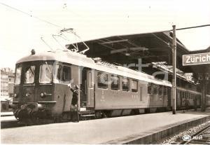 1975 ca ZURICH Locomotiva SIG RBe 4/4 Serie 1401 *Cartolina FG NV