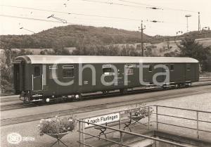 1975 ca SIG Post Telephon und Telegraphenverwaltung Bahnpostwagen *Cartolina FG
