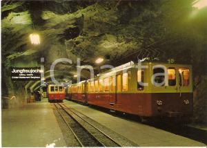 1975 ca JUNGFRAUJOCH Stazione sotterranea della JUNGFRAUBAHN *Cartolina FG NV