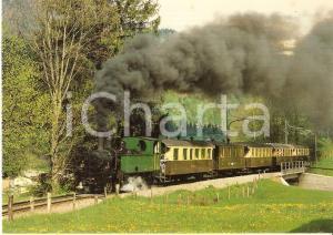 1982 GSTEIGWILER Railway MEFEZ Locomotive G 3/4 11 *Cartolina FG NV