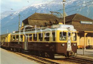 1981 INTERLAKEN OST Berner Oberland Bahnen BOB Locomotiva ABeh 4/4 310 Cartolina