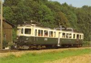 1982 RAMSEI (SVIZZERA) Locomotiva elettrica BDe 4/4 I 245 *Cartolina FG NV