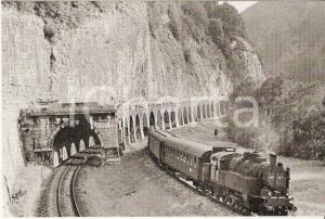 1962 BADL - SEMRIACH Steiermark Express Locomotiva 77.74 *Cartolina FG NV