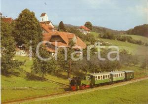 1975 ca VBW Vereinigte Bern - Worb Bahnen FEURIGE ELIAS *Cartolina FG NV