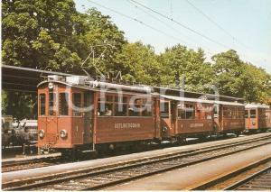 1973 ZURICH SELNAU Treno 1923/24 della linea UETLIBERGBAHN *Cartolina FG NV