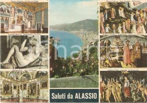 1970 ALASSIO (SV) Panorama da levante e vedutine di FIRENZE *Cartolina FG VG