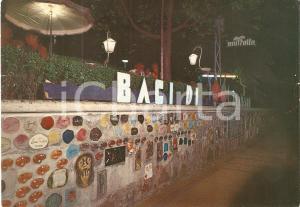 1975 ALASSIO (SV) Vista notturna del MURETTO *Cartolina ANIMATA FG VG