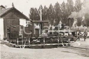 1967 AGNITA (ROMANIA) Treno CFR 388.002 su piattaforma girevole *Cartolina FG NV