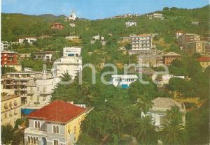 1974 ALASSIO (SV) Frazione SOLVA e panoramica collinare *Cartolina FG NV