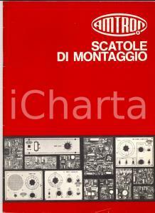 1972 MILANO Scatole di montaggio AMTRON *Catalogo ILLUSTRATO n° 5 58 pp. 19x26