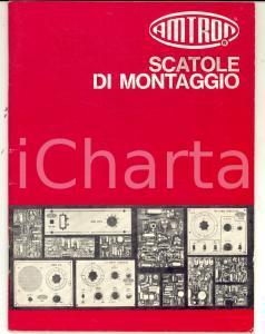 1972 MILANO Scatole di montaggio AMTRON *Catalogo ILLUSTRATO n° 5 58 pp.